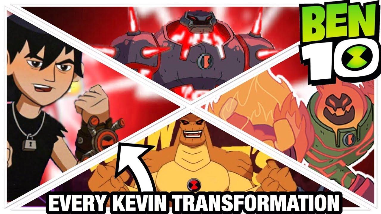 Ben 10 Reboot Season 3 Every Kevin 11 Transformation