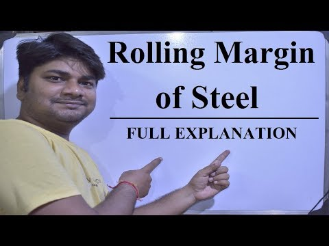 What Is Rolling Margin Of Steel As Per IS Code | Reconciliation Of Steel | Full Explanation