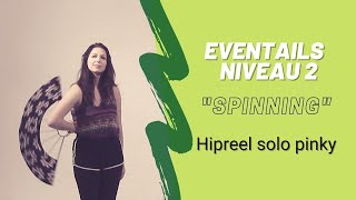 TUTO Eventails de feu - Spinning Hip Reels - 1/7 (Pinky leading à 1 main)
