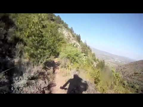 Descenso del monolito de Nalda - Tramo de La Rioja Bike Race