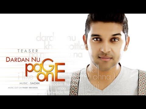 Guru Randhawa- Dardan Nu | Song Teaser | Page One