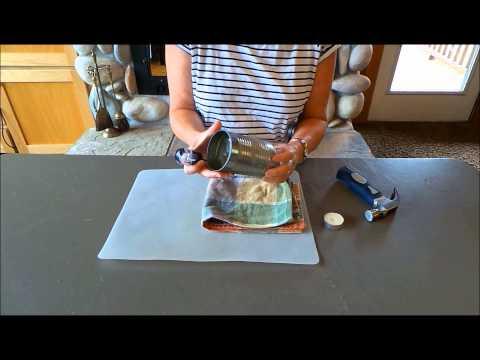 Upcycle: DIY Tin Can Luminaries Tutorial