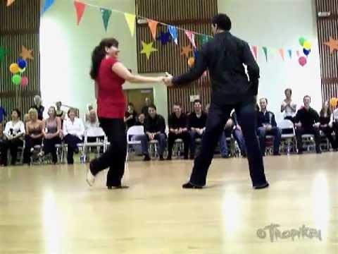 "Rob ""I"" Ingenthron & Yvonne Benavides-Wayne - 2007 RESDC Invitational West Coast Dance Jack & Jill"