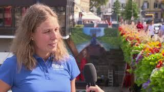 1. Bitburger 0,0% Triathlon-Bundesliga Tübingen 2018 - Karoline Degenhardt im Interview