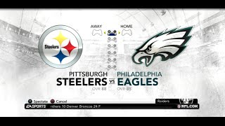 PS3 Gameplay: Madden NFL 12 (Super Bowl) [Steelers vs Eagles]