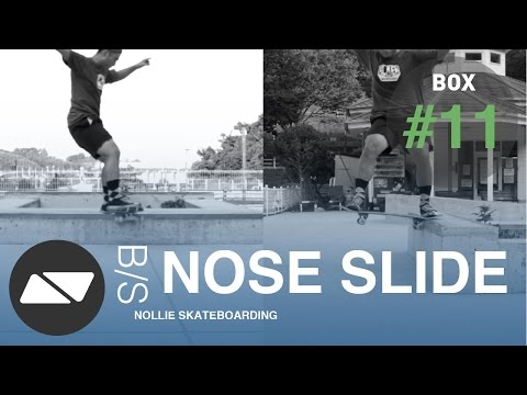 BACKSIDE NOSE SLIDE [SKATEBOARDING BOX TUTORIAL #11.0]
