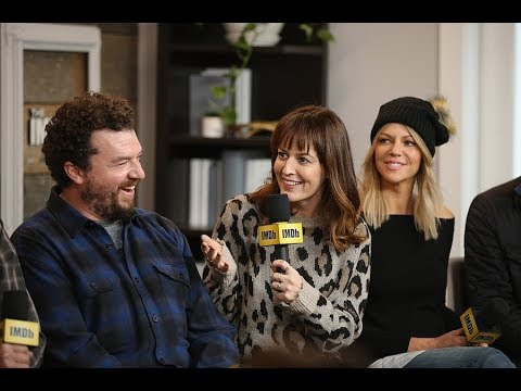 Danny McBride, Rosemarie DeWitt and Kaitlin Olson Sundance   SUNDANCE 2018
