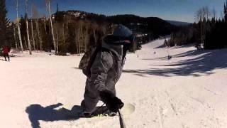 Ruidoso, NM snowboarding.