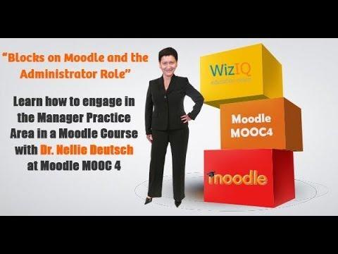 Blocks on Moodle 2 6