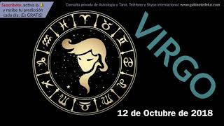Horóscopo Diario - Virgo - 12 de Octubre de 2018