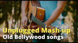 Unplugged Fusion of Old Indian movie songs - Medley -  (Use headphones)
