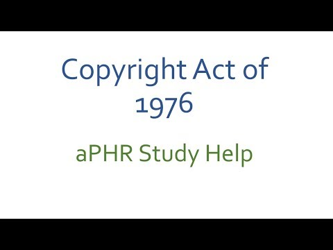 Copyright Act of 1978