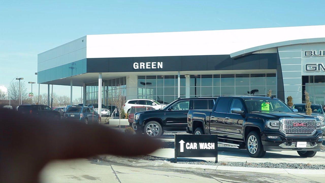 green buick gmc car wash davenport ia youtube. Black Bedroom Furniture Sets. Home Design Ideas