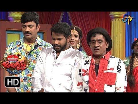 Hyper Aadi, Raising Raju Performance | Jabardasth | 15th February 2018  | ETV  Telugu