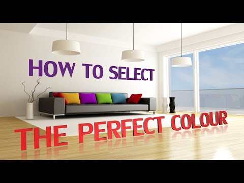 How To Select The Perfect Colour: How Colours Can Affect Your Mood, Feelings and Emotions!