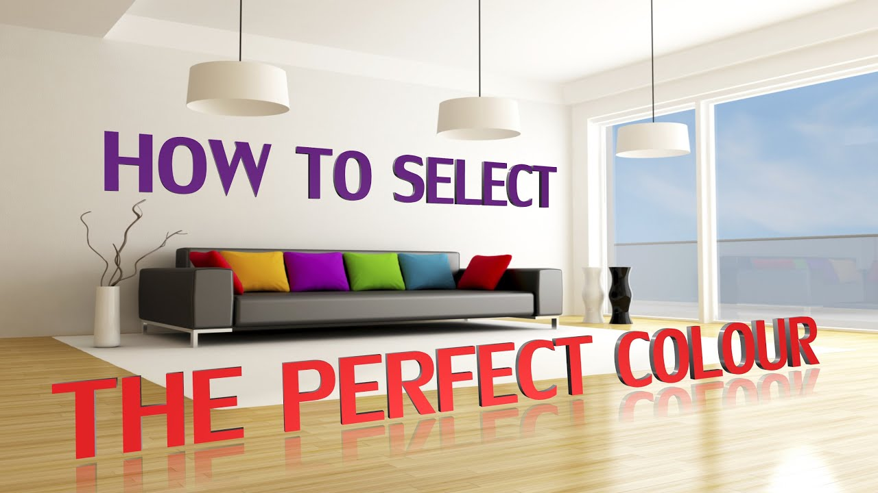 How To Select The Perfect Colour: How Colours Can Affect Your Mood,  Feelings And Emotions!   YouTube