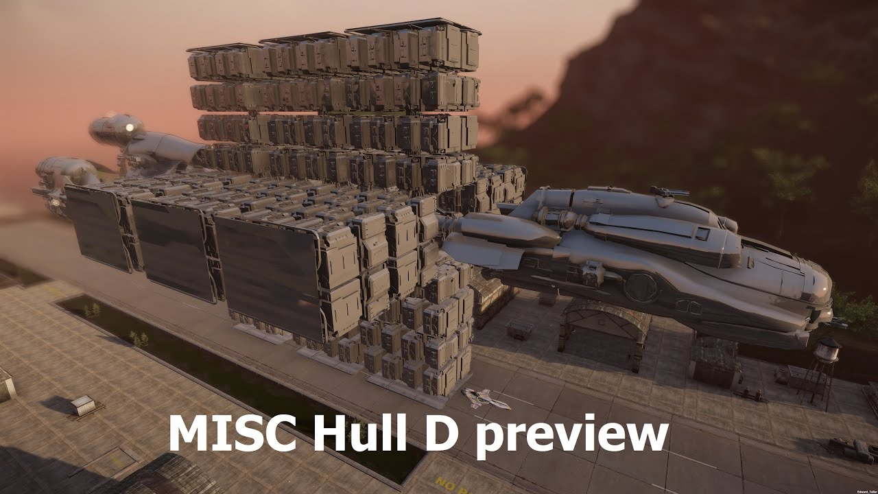 Star Citizen MISC Hull D Preview YouTube