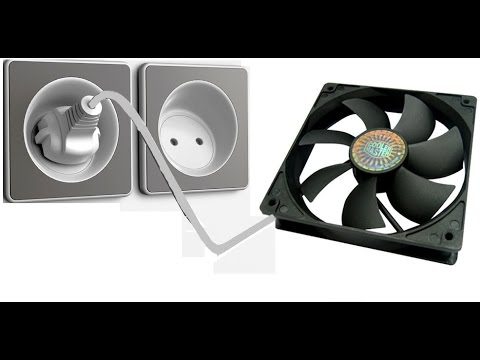 Мини вентилятор 220 вольт