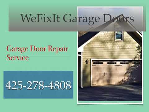garage door repair  we fix it bellevue wa