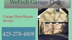 garage door repair  we fix it bellevue wa