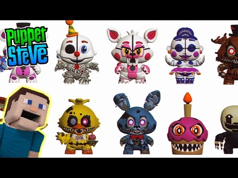 Five Nights At Freddy S Mystery Minis Wave 2 Fnaf Funko