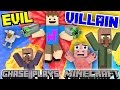 Evil Chase joue au minecraft! Vengeance sur le destroyer du village