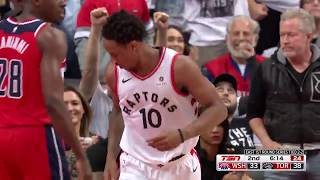 DeMar DeRozan Finishes with 32 Points to Lead Raptors in Game 5 Win over Wizards