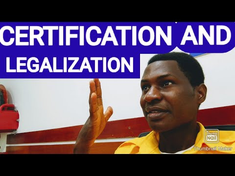 THE PROCESS OF CERTIFICATION AND LEGALIZATION OF ADMISSIONS DOCUMENTS FOR AUSTRIA, GERMANY,NORWAY.