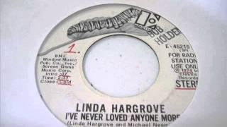 """Linda Hargrove """"I"""