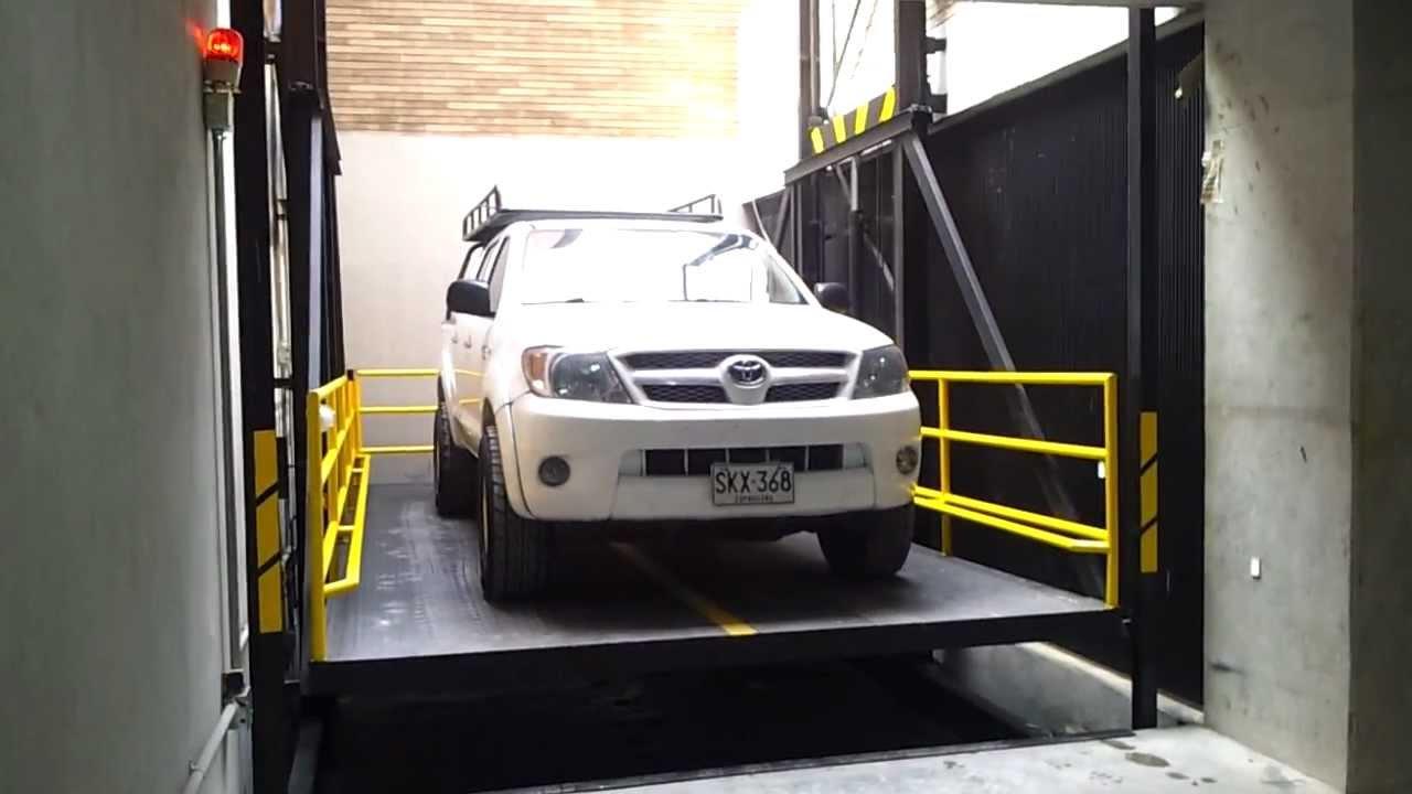 Ascensor montacoches ascensor para vehiculos ascensor for Precio ascensor hidraulico 3 paradas