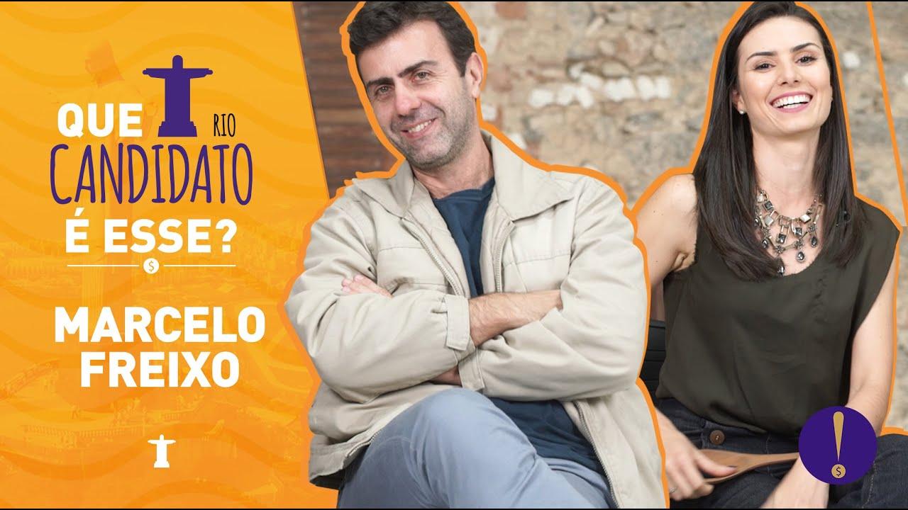 NATHALIA ARCURI - Entrevista: Marcelo Freixo -Que Candidato é esse?