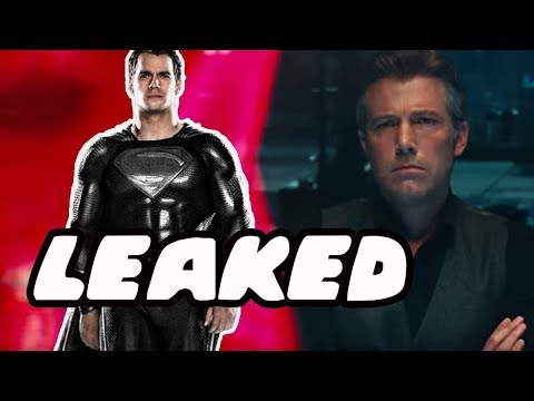 How Superman Returns In Justice League Leaked! Black Suit Superman Confirmed!