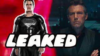 How Superman Returns In Justice League Leaked! Black Suit Superman Confirmed!