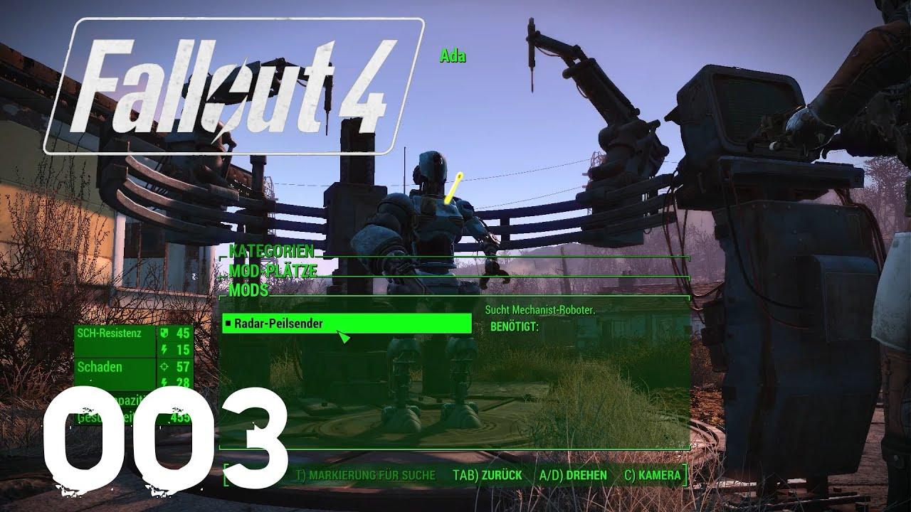 Eigene Roboter bauen!   Fallout 4 Automatron DLC #003 ...
