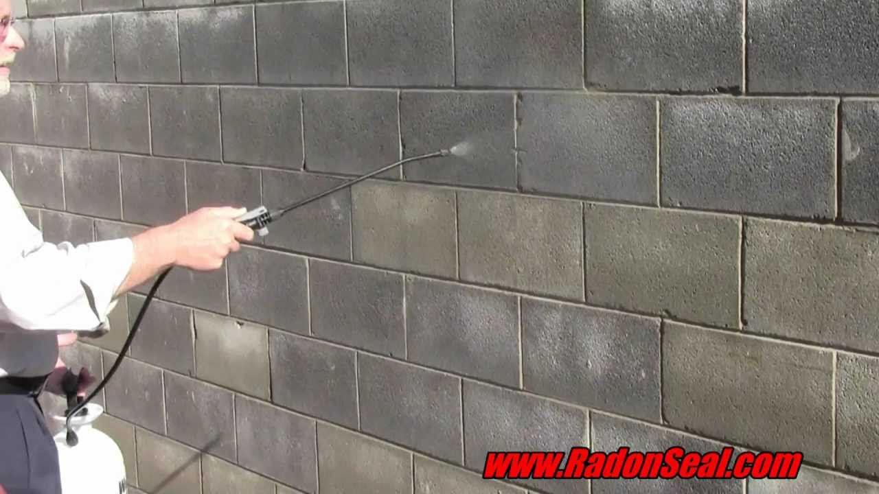 do-it-yourself basement waterproofing sealer | radonseal