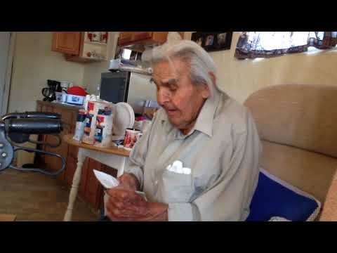 WWII USMC Navajo Code Talker Joe Kellwood songs Marine Corps Hymn in Diné