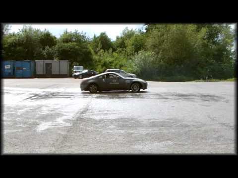 Jamie Bennett drifting