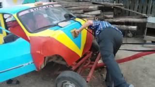 Caruta facuta din Dacia 1300 de catre Holban Costica
