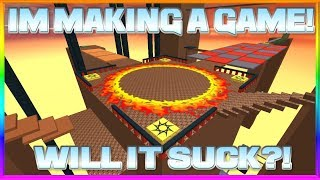 IM MAKING A NEW GAME ON ROBLOX!! *COME JOIN!*