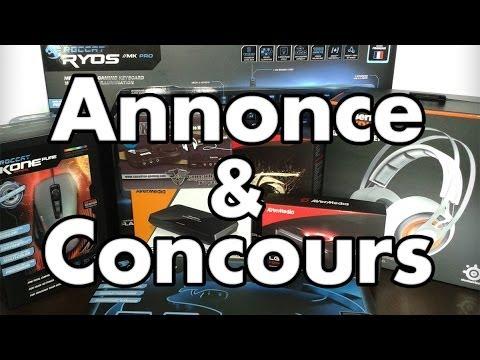 Annonce : Vacances et Concours !