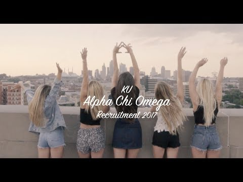 Alpha Chi Omega University of Kansas - Recruitment  2017