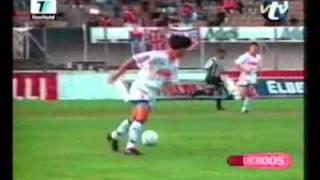vuclip El mejor gol del mundo del año [Alvaro Recoba] [1997]