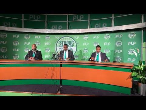 PLP Announce Candidates: Dr Ernest Peets & Curtis Richardson, Aug 31 2020