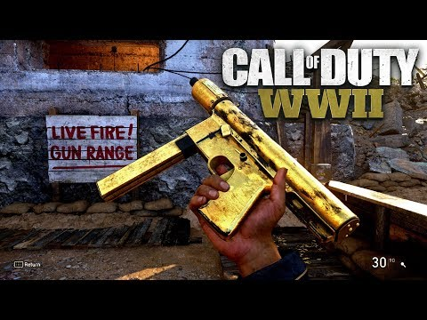ROAD TO CHROME (GOLD GREASE GUN) - Call of Duty: WW2 Multiplayer Gameplay PS4 PRO