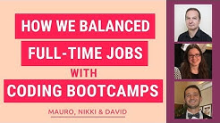 Balancing Coding Bootcamp with Full-Time Jobs