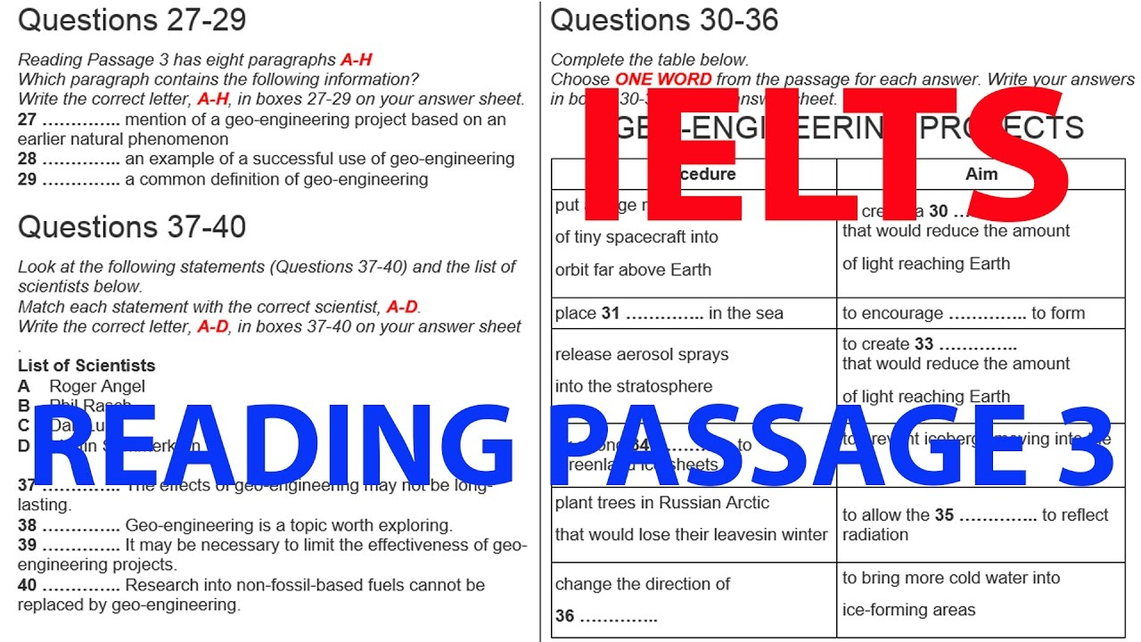 IELTS READING PRACTICE TEST DOWNLOAD