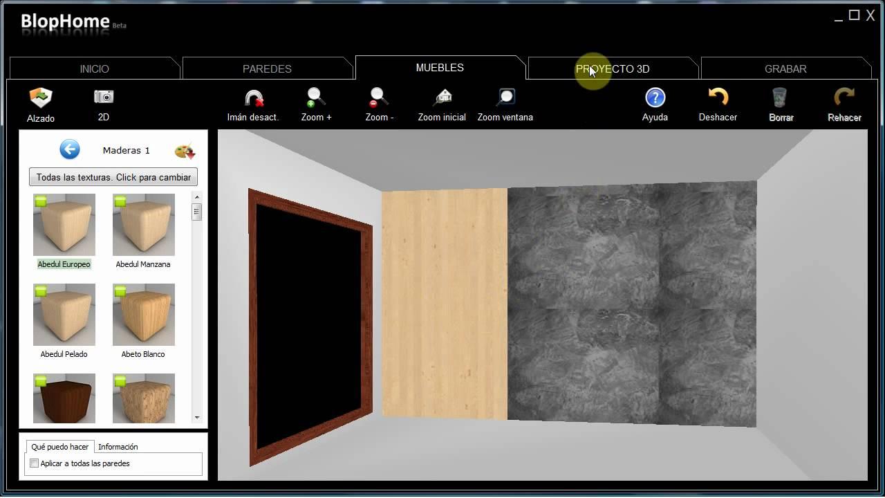 Blophome pintar pared con dos colores youtube - Como pintar un salon en dos colores ...