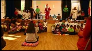Gonville Academy year 2 Production christmas around the world uk primary school