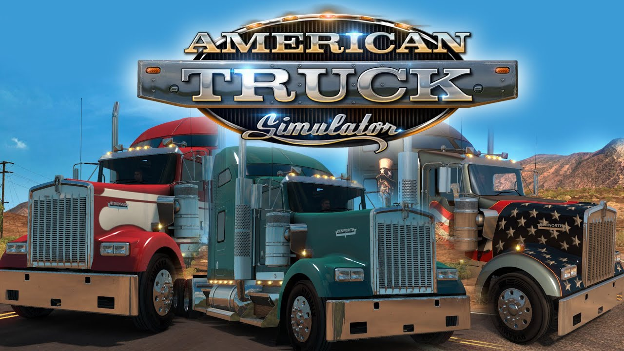 american truck simulator introducing w900 youtube. Black Bedroom Furniture Sets. Home Design Ideas