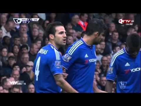 West Ham United vs Chelsea - Ngoại hạng Anh - vòng 10 Hiệp 1